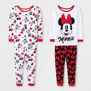 4pc Minnie Mouse Pajama Set 18 Months NWT